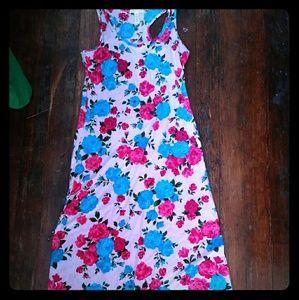 Ambiance Apparel Floral Maxi Dress